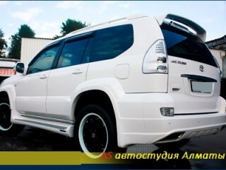 Шумоизоляция Toyota Land Cruiser prado 120
